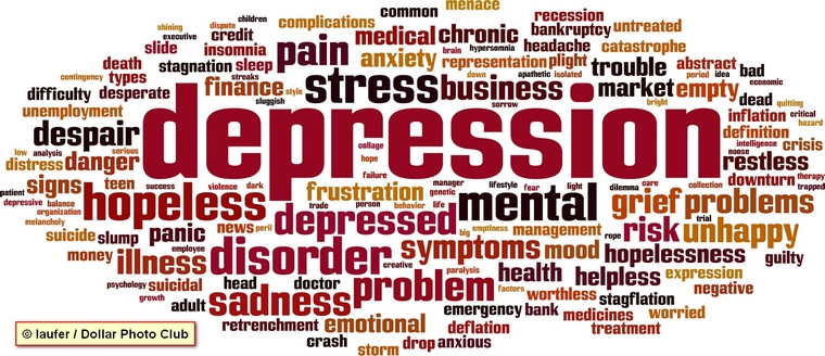 Depression related words