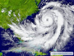 huge hurricane over florida - hurricanes, depression, and recovery