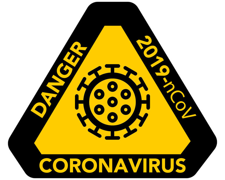 Warning Sign re Danger of COVID-19