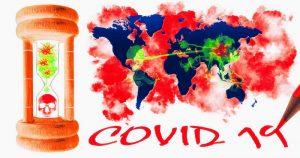 COVID-19 graphic concept of viral attack