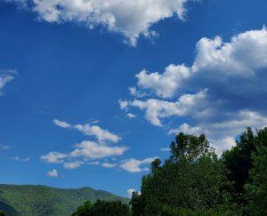 threatening clouds